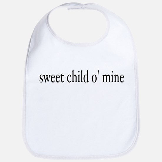 sweet child o mine Bib