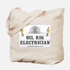 Oil Rig Electrician Tote Bag