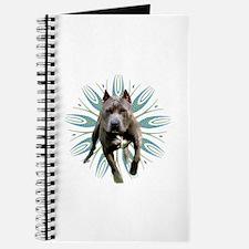 Pit Bull Kaleidoscope Graphic #P5 Journal