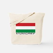 Hunagry Flag (labeled) Tote Bag