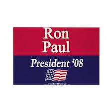 """""""Ron Paul for President"""" Rectangle Magnet"""