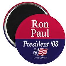 """""""Ron Paul for President"""" 2.25"""" Magnet (100)"""