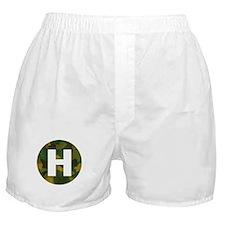 Camo Green HeliPad Boxer Shorts
