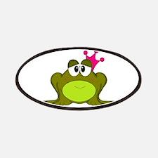 Frog Princess Pink Crown Patch