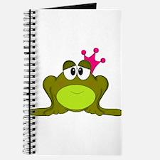 Frog Princess Pink Crown Journal