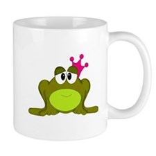 Frog Princess Pink Crown Mugs