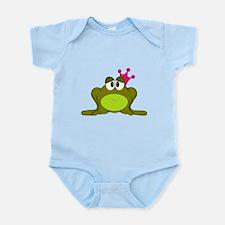 Frog Princess Pink Crown Body Suit