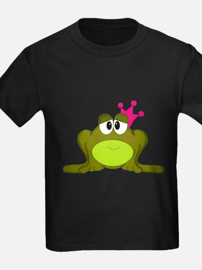 Frog Princess Pink Crown T-Shirt