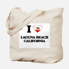 I love Laguna Beach California Tote Bag