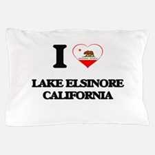 I love Lake Elsinore California Pillow Case