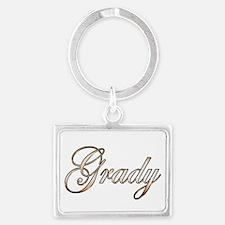Gold Grady Keychains