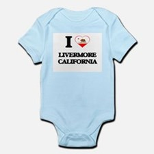 I love Livermore California Body Suit