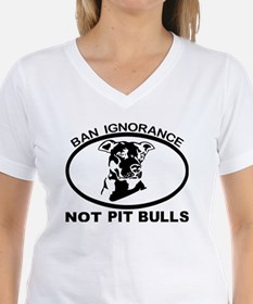 BAN IGNORANCE NOT PIT BULLS T-Shirt