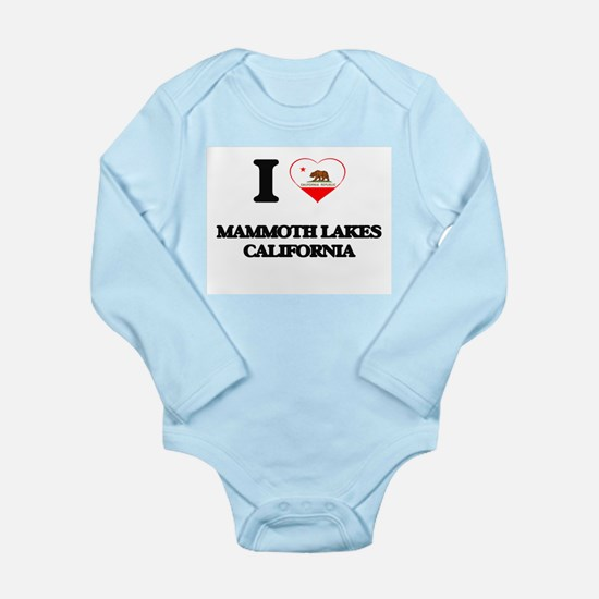 I love Mammoth Lakes California Body Suit