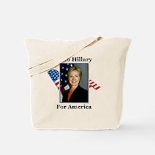 2016 Hillary Tote Bag