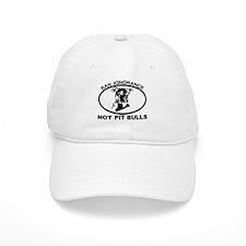 BAN IGNORANCE NOT PIT BULLS Baseball Cap