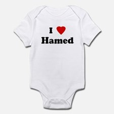 I Love Hamed Infant Bodysuit