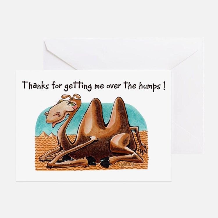 Camel Humps - Thank You Card