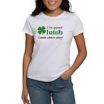 I'm Part Irish Women's T-Shirt