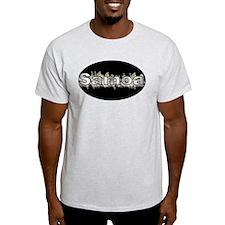 Samoa in Oval Shape T-Shirt
