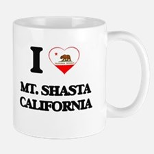 I love Mt. Shasta California Mugs