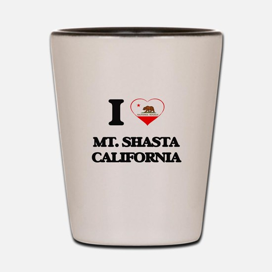 I love Mt. Shasta California Shot Glass