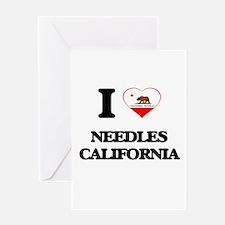 I love Needles California Greeting Cards