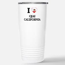 I love Ojai California Travel Mug