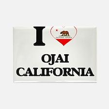 I love Ojai California Magnets