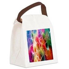 Energy Burst Canvas Lunch Bag