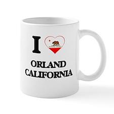 I love Orland California Mugs