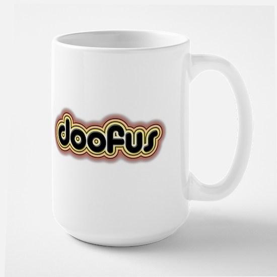 Doofus Large Mug