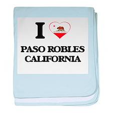 I love Paso Robles California baby blanket