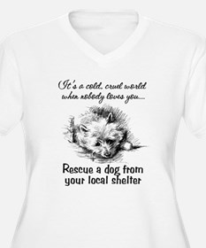 Rescue A Dog T-Shirt