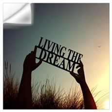 Living The Dream 3 Wall Decal