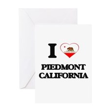 I love Piedmont California Greeting Cards