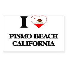I love Pismo Beach California Decal