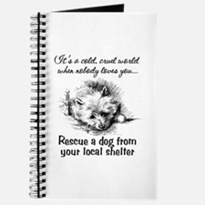 Rescue A Dog Journal