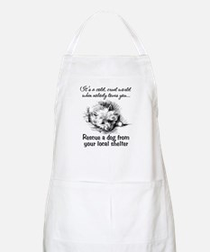 Rescue A Dog BBQ Apron