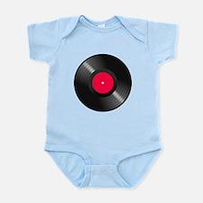 Vinyl Record Body Suit