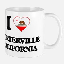 I love Porterville California Mug