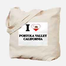 I love Portola Valley California Tote Bag