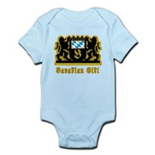 Bavarian Girl Oktoberfest Infant Bodysuit