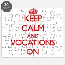 Keep Calm and Vocations ON Puzzle