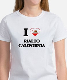 I love Rialto California T-Shirt