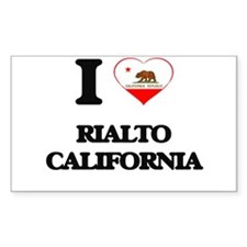 I love Rialto California Decal