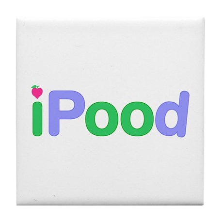 iPood Tile Coaster