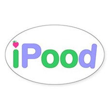 iPood Oval Decal