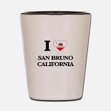 I love San Bruno California Shot Glass