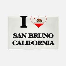 I love San Bruno California Magnets